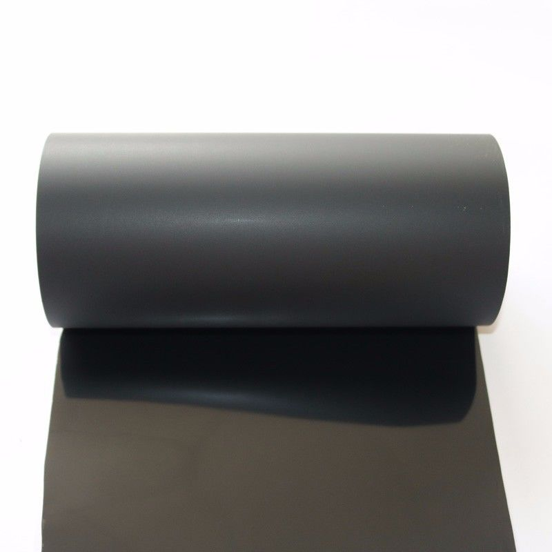 Black PET Surface Protection Film For Building Material / Carpet Moisture Proof